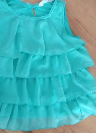 Модная маечка, блузка на 8-10 лет