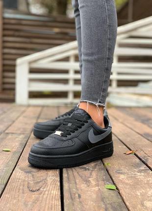 Женские кроссовки с мехом ◈ nike air force ◈ 😍