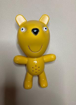 Интерактивный персонаж свинка Пеппа и пульт мишка Тедди Peppa Pig