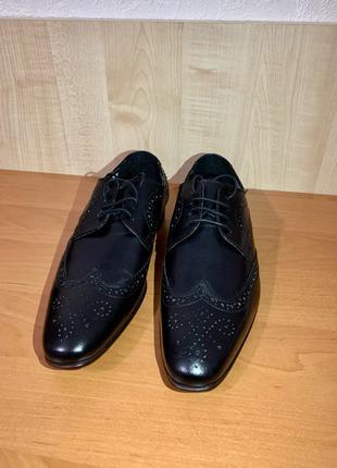 Новые кожаные туфли Topman