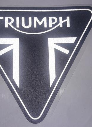 Наклейка для мотоцикла Triumph