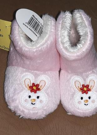 Теплые детские тапочки minissa