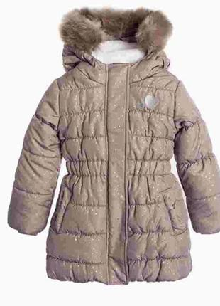 Зимнее пальто cool club 98 116 134