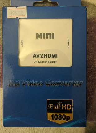 AV2 HDMI Video converter конвертер