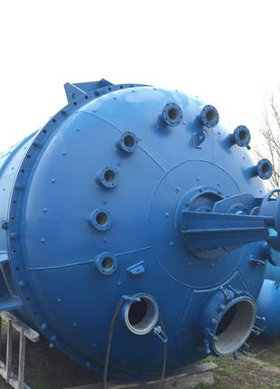 Реактор из нержавеющей стали 1м3. 1,6м3. 2м3. 3,2м3. 5м3. 6,3м3.