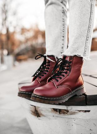 Ботинки сапоги натуральная кожа dr martens classic