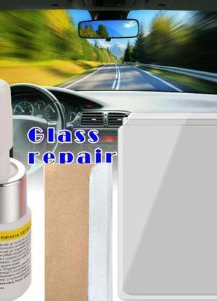 Полимер для ремонта лобового стекла,трещины,сколы,быстрый клей