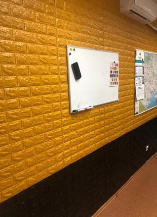 Самоклеющиеся 3д панели. Декор стен 3д панели.