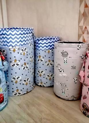 Корзина мешок для игрушек