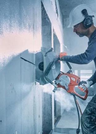 Алмазная резка бетона,вынос мусора.Демонтаж стен любой сложности