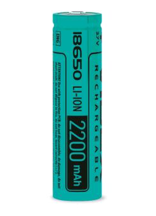 Акумулятори літій-іонні (Без захисту)18650 2200mAh