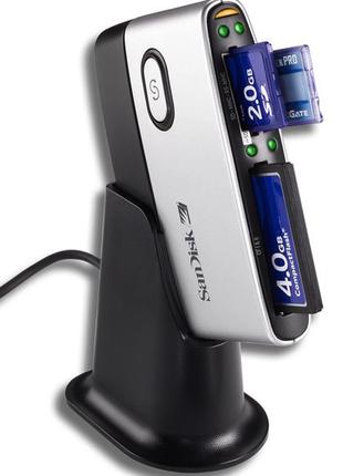 Считыватель флеш-карт картридер 12 в 1 SANDISK (SDDR-89-E15)