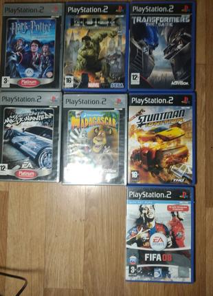 Лицензионные диски Sony PlayStation 2, PS2