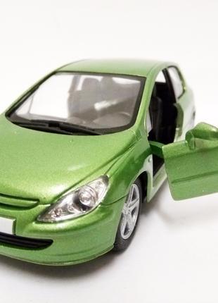 Peugeot 307 пежо машинка металл.