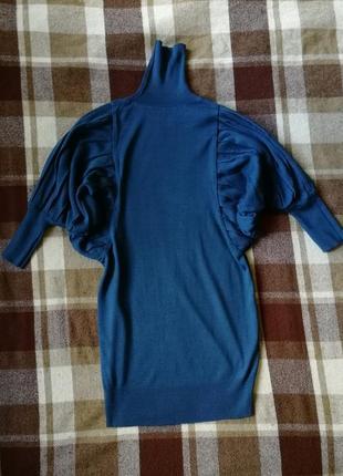 Роскошное платье свитер, италия, 100% тонкая шерсть
