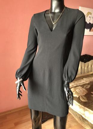Платье zara, маленькое чёрное платье размер 44, 46