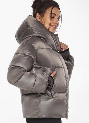 Женский воздуховик braggart, женский пуховик, зимняя куртка