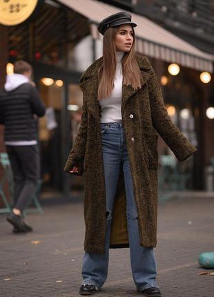 Стильное зимнее пальто, пальто утепленное, пальто на утеплителе