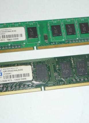 Модуль памяти DDR3 2x2 Good RAM
