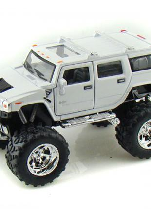 Hummer H2 SUV хаммер монстр джип машинка металл.