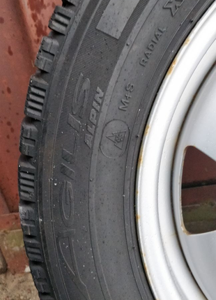 215 60 R17C Michelin Agilis Alpin на дисках!