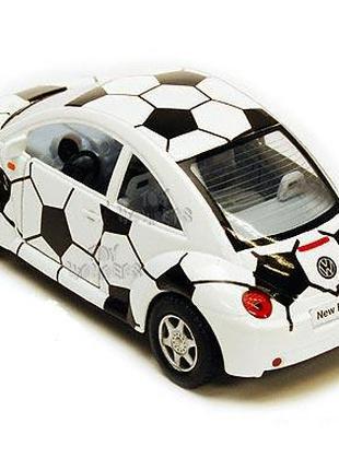 Volkswagen фольцваген жук,под футбольный мяч,машинка металл.