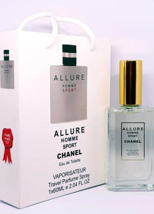 Chanel Allure Homme Sport 60ml Тестер Подарочный Пакет
