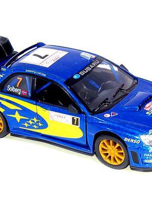 Subaru Impreza WRC rally субару импреза ралли машинка металл.