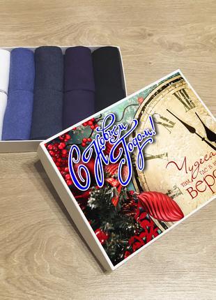 С новым годом, Подарочный набор женских носков (кейс носков), 10