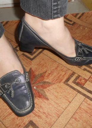 Туфли -мокасины пр-во испания