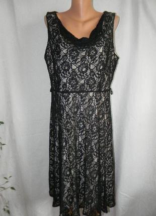 Кружевное платье большого размера bhs
