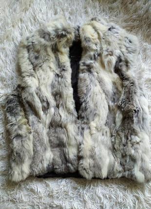 Хутряна жилетка кролик натуральна sasch № 14