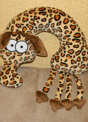 Подушка-подголовник lenkin «жираф евграф»