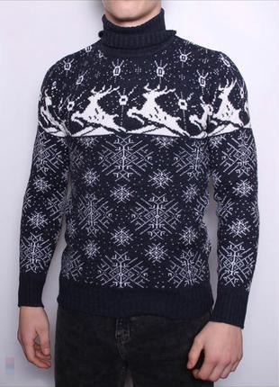 Мужские свитера с оленями