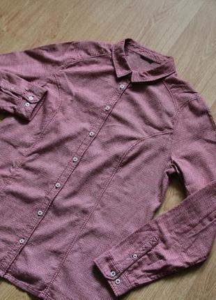 Рубашка в клеточку от jack wolfskin