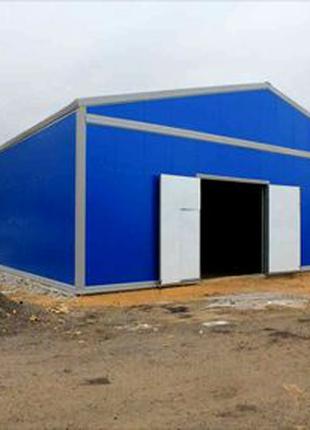 Строительство технических, модульных, помещений,ангаров,складов.