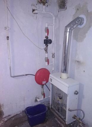 Установка Газового Котла Поліпропіленові Труби
