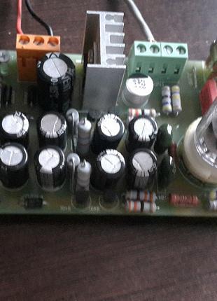 Ламповый гармонизатор 6Н3П триодный повторитель 12 АС
