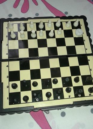 мини шахматы на магнитах(китай) не полный состав