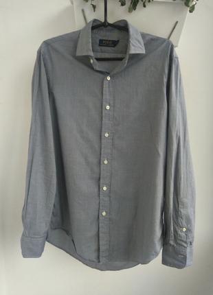 Рубашка Polo Ralph Lauren мужская сорочка М/L acne