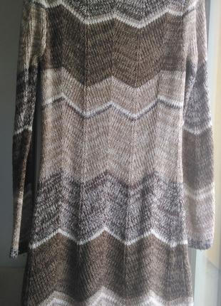 Теплое платье зимнее туника