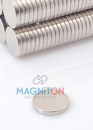 Неодимовый магнит шайба 14х2 мм