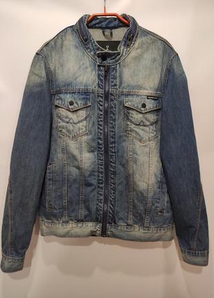 Noroze мужская джинсовая куртка, пиджак, джинсовка на молнии