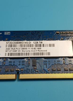 Оперативная память для ноутбука RAM 2GB DDR3