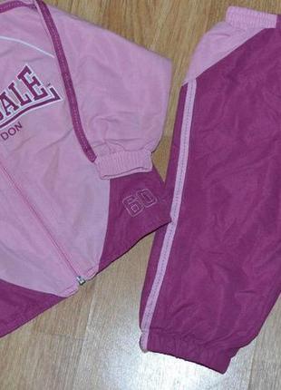 Спортивный костюм для девочки на возраст 12-18 мес.