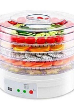 Сушка для фруктов и овощей на 5 секций Philippe Ratek