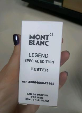Духи Mont Blanc