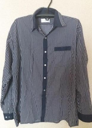 Модная    мужская   рубашка   классика      большой размер
