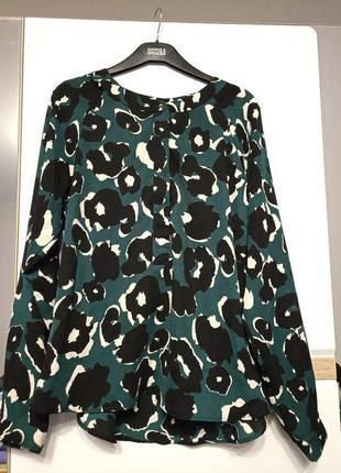 Блуза m&s с принтом