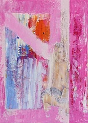 Картина маслом абстракция